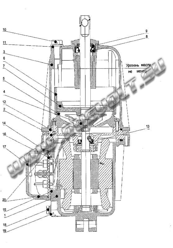 Конструкция гидротолкателя ТЭ